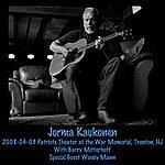 Jorma Kaukonen 2008-04-03 Patriots Theater At The War Memorial, Trenton, Nj