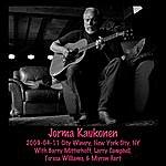 Jorma Kaukonen 2009-04-11 City Winery, New York, Ny
