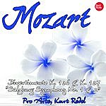 """The Pro Arte Orchestra Mozart: Divertimento K. 136 & K. 137 """"salzburg Symphony No. 1 & 2"""""""