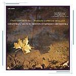 Charles Munch Chopin: Piano Concerto No. 1 In E Minor, Op. 11 / Mendelssohn: Capriccio Brillant In B Minor For Piano And Orchestra, Op. 22