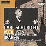 Carl Schuricht Ludwig Van Beethoven : Symphony No.5 In C Op.67 - Johannes Brahms : Double Concerto Op.102