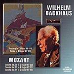 Wilhelm Backhaus Wolfgang Amadeus Mozart : Solo Piano Works