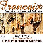 Slovak Philharmonic Orchestra Francaix: Concertino For Piano And Orchestra