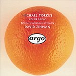 Baltimore Symphony Orchestra Torke: Colour Music