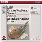 London Philharmonic Orchestra Liszt: Complete Tone Poems, Vol.1 (2 Cds)