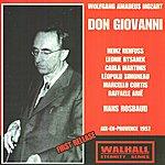 Hans Rosbaud Wolfgang Amadeus Mozart: Don Giovanni