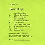 Song Game Of Life