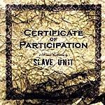 Slave Unit Certificate Of Participation