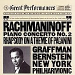 Gary Graffman Rachmaninoff: Concerto No. 2 In C Minor For Piano And Orchestra, Op. 18, And Rhapsody On A Theme Of Paganini, Op. 43