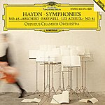 "Orpheus Chamber Orchestra Haydn, J.: Symphonies Nos.hob.i:81 & Hob.i:45 ""farewell"""