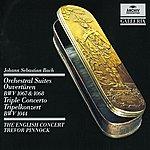 Simon Standage Bach: Orchestral Suites (Overtures) Bwv 1067 & 1068 / Triple Concerto