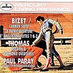 Detroit Symphony Orchestra Bizet: Carmen Suite/L'arlésienne Suite/Thomas: Overtures Mignon & Raymond