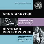 Mstislav Rostropovich Shostakovich: Violin And Cello Concertos