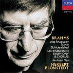 Jard Van Nes Brahms: Works For Chorus & Orchestra