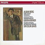 Gidon Kremer Berg: Violin Concerto; Three Orchestral Pieces