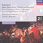 Philharmonia Hungarica Kodály: Háry János Suite/Dances Of Galánta/Peacock Variations, Etc. (2 Cds)