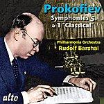 "Rudolf Barshai Prokofiev: Symphonies 5 & 1 ""classical"""