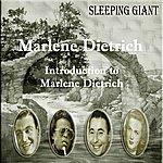 Marlene Dietrich Introduction To Marlene Dietrich