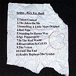 The Rick Ray Band The Setlist