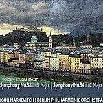"Igor Markevitch Mozart: Symphony No. 38 In D Major \""prague\"", Symphony No. 34 In C Major"