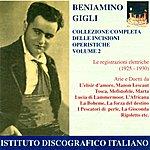 Beniamino Gigli Opera Arias (Tenor): Gigli, Beniamino - Donizetti, G. / Puccini, G. / Drigo, R. / Verdi, G. (Complete Collection Of Opera Highlights, Vol. 2)