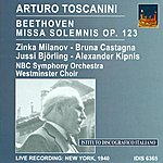 Arturo Toscanini Beethoven, L. Van: Missa Solemnis (Toscanini) (1940)