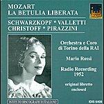 Mario Rossi Mozart, W.a.: Betulia Liberata (La) [Oratorio]