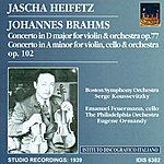 Jascha Heifetz Brahms, J.: Violin Concerto, Op. 77 / Double Concerto For Violin And Cello, Op. 102 (Heifetz) (1939)