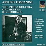 Arturo Toscanini Orchestral Music - Schubert, F. / Respighi, O. / Mendelssohn, Felix / Debussy, C. / Tchaikovksy, P.i. / Strauss, R. (Toscanini) (1941-1942)