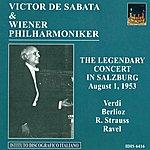 Victor De Sabata Verdi, G.: Overture To I Vespri Siciliani / Berlioz, H.: Le Carnaval Romain / Strauss, R.: Tod Und Verklarung (Vienna Philharmonic, De Sabata) (1953)
