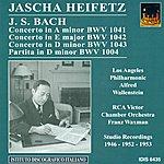 Jascha Heifetz Bach, J.s.: Violin Music - Bwv 1004, 1041, 1043 (Heifetz) (1946, 1952, 1953)