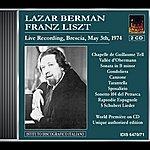 Lazar Berman Berman, Lazar: Piano Works By Franz Liszt