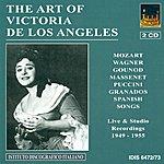 Victoria De Los Angeles Vocal Recital: Angeles, Victoria De Los - Mozart, W.a. / Wagner, R. / Gounod, C.-F. / Massenet, J. / Granados, E. / Fuste, E. / Turina, J. (1949-1955)