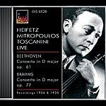 Jascha Heifetz Beethoven, L. Van: Violin Concerto, Op. 61 / Brahms, J.: Violin Concerto, Op. 77 (Heifetz) (1935, 1956)