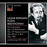 Lazar Berman Beethoven, L. Van: Piano Sonatas Nos. 8, 19, 23 And 31 (Berman) (1972-1984)