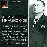 Beniamino Gigli Opera Arias (Tenor): Gigli, Beniamino (The Very Best Of Beniamino Gigli) (1927-1946)