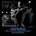 Jorma Kaukonen 2008-11-23 At The Tabernacle, Mt. Tabor, Nj