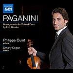 Philippe Quint Paganini, Arr. Kreisler: La Campanella - Le Streghe - Variations