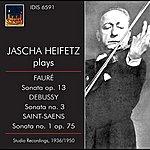 Jascha Heifetz Jascha Heifetz Plays French Sonatas