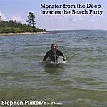 Stephen Pfister Monster From The Deep Invades The Beach Party