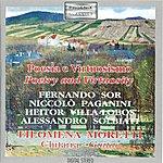 Filomena Moretti Sor, Paganini, Villa Lobos And Solbiati: Poetry And Virtuosity