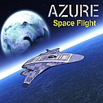 Azure Trio Space Flight