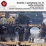 Charles Munch Dvorak Symphony No. 8; Cello Concerto
