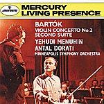 Yehudi Menuhin Bartók: Violin Concerto No. 2; Suite No. 2