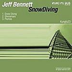 Jeff Bennett Snowdiving