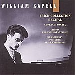 William Kapell William Kapell Edition, Vol. 8: Frick Collection Recital: Copland: Sonata; Chopin: Polonaise-Fantaisie; Mussorgsky: Pictures At An Exhibition