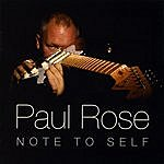 Paul Rose Band Note To Self