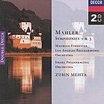 Maureen Forrester Mahler: Symphonies Nos. 1 & 3 (2 CDs)
