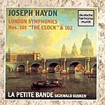 Sigiswald Kuijken Haydn: London Symphonies Nos. 101 & 102