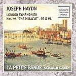 Sigiswald Kuijken Haydn: Sym. 96, 97, 98